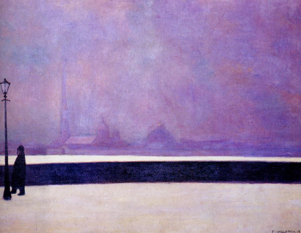 Felix Vallotton - Neva Light Fog